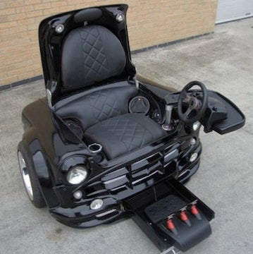A Mini Cooper That Can Transform Into an Awesome Gaming Chair