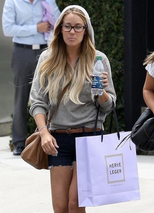 Lauren Conrad Prefers To Constrict Herself In Tightly Wrapped Frocks