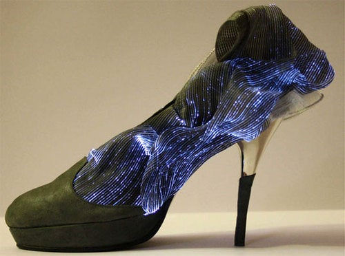My Cinderella Would Wear These Fiber Optic Heels