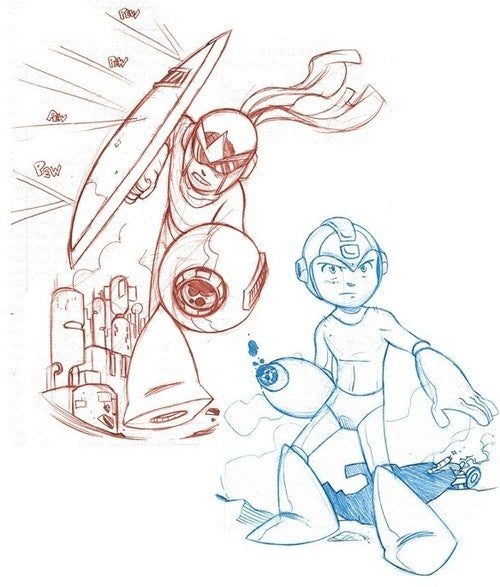 Mega Man Comic Coming To Newsstands In Spring 2011