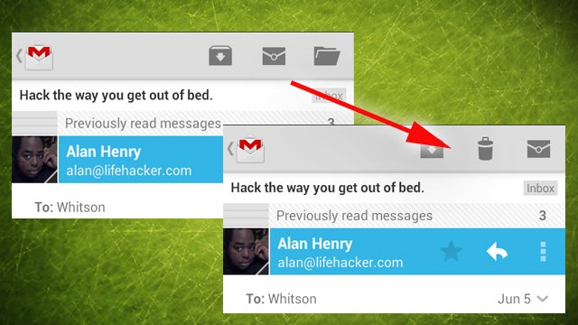 How to Bring Back the Delete Button in the New Gmail for Android