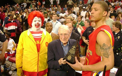 Ronald, Wooden And Some Teenagers