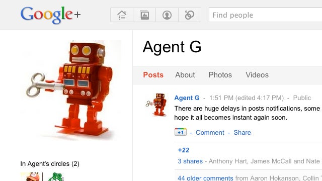 Agent G Automatically Posts Your Google+ Updates to Twitter