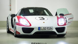 Unanticipated Encounter - A Beautiful Weissach Package 918 Spyder