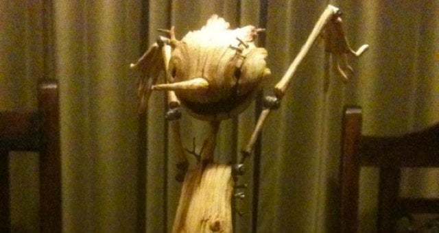 First look at Guillermo Del Toro's creepy-as-hell Pinocchio puppet