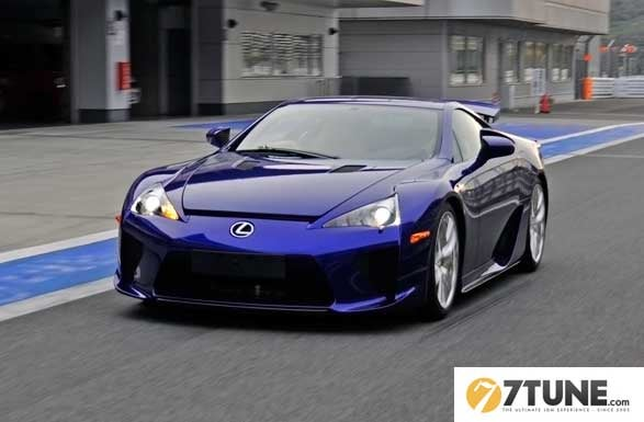 Lexus Taking LF-As To The Track For Fun?