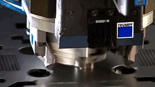 Watching this machine punching through metal = Total satisfaction
