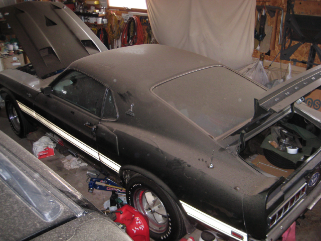 This Is What A Mint Garage Find '69 Shelby GT500 Looks Like