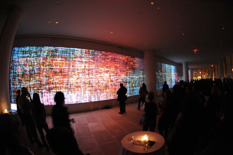 120 Feet of Video Art: Final Exams at NYU's Big Screens Class