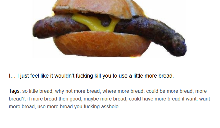 There's an Amazing Tumblr Making Fun of Terrible Pictures of Food