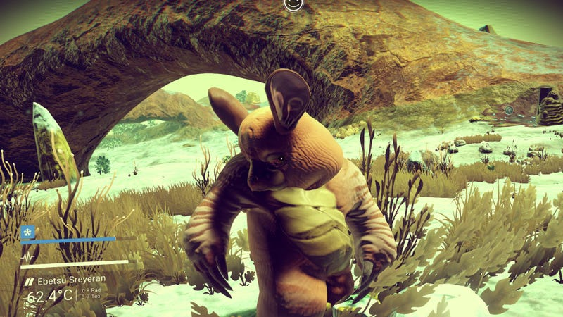 The Strange and Disturbing Creatures That People Are Finding In No Man's Sky