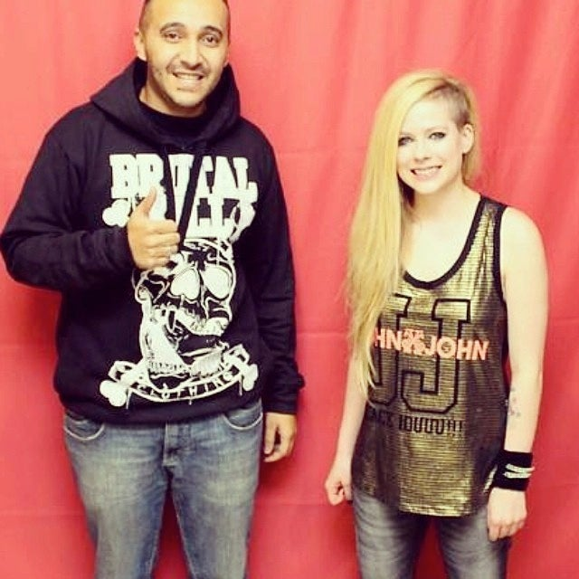 Fans Spend $400 to Stand An Arm's Length Away from Avril Lavigne