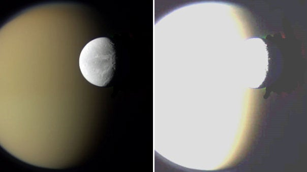 NASA caught Photoshopping an image of Saturn's moons. What were they trying to hide?