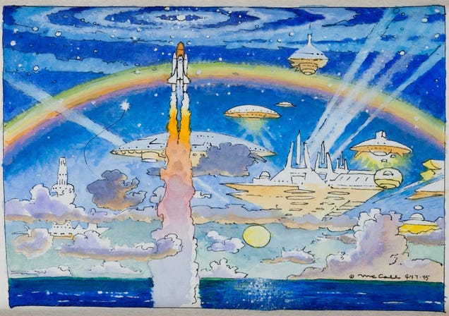27 Paintings From the Most Famous Space Artist On Earth (And Off)