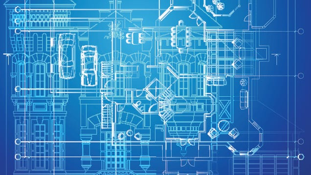 Why Are Blueprints Blue?