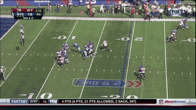 Giants 41, Bucs 34: The Game In Two GIFs