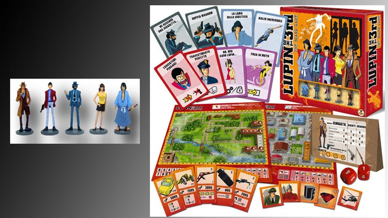 Finally, a Lupin III Board Game!