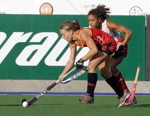 Amazing Arms, Courtesy Of World-Class Field Hockey Players