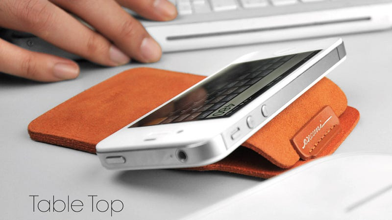 Let's Hope This Beautiful Leather iPhone Sleeve Gets an Upgrade This Week