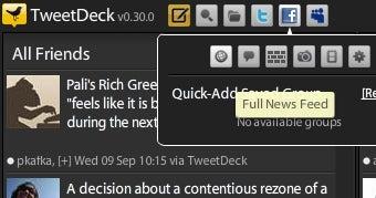 TweetDeck Updates with Better Facebook, New MySpace Support