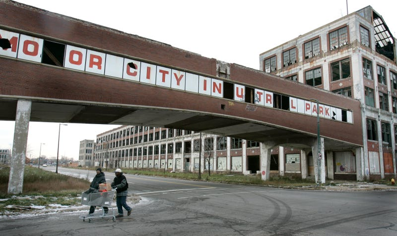 Somebody's Crazy Enough To Want Detroit's Greatest Automotive Ruin