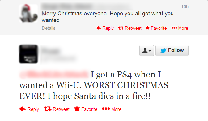 Nothing Stings Quite Like Getting The Wrong Console For Christmas