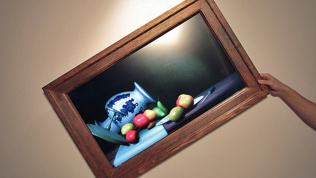 Why Won't This Still Life Painting Just Stay Put?