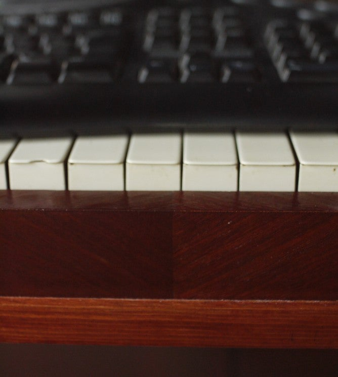 Computing Across the Keys: The Piano Case Mod - (After)