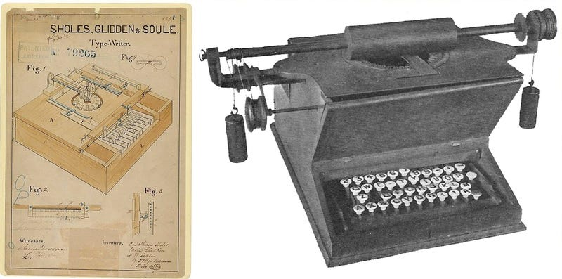 The Curious Evolution of the Typewriter, in Pictures