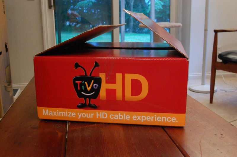 $300 TiVo HD Unboxed and Fondled (Verdict: Hell Yes!)