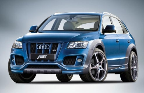 "ABT Sportsline Tunes Audi Q5, Thinks SUV Means ""Particularly Sporty""-UV"