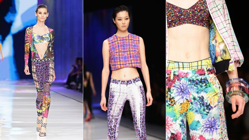 Just Cavalli: For the Sexy, 90s-Loving Pile of Fabric Scraps in You
