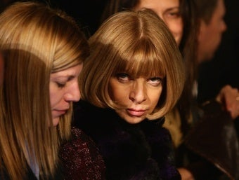 Anna Wintour Has Some Bitchy Compliments for Fashion Bloggers