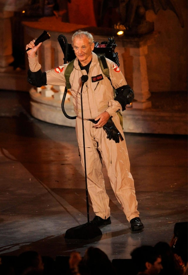 Bill Murray straps on his proton pack one more time