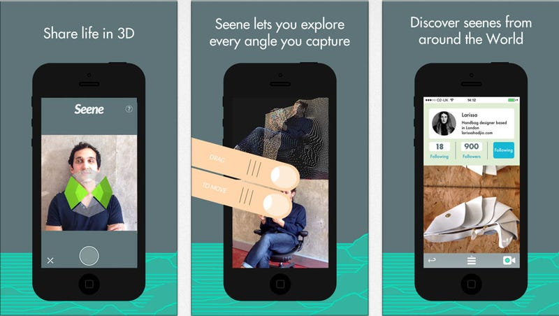 Take And Share 3D Images Like It's No Big Deal