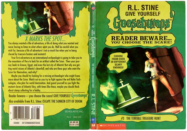 Classic Book Covers Reimagined ~ Classic video games reimagined as r l stine goosebumps books