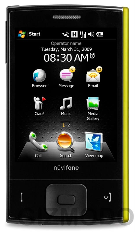 Garmin-Asus Nuvifone M20: A Surprisingly Cute WinMo 6.1 GPS Phone