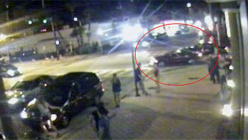 Identify This Red Convertible To Help Solve An Intentional Hit-And-Run