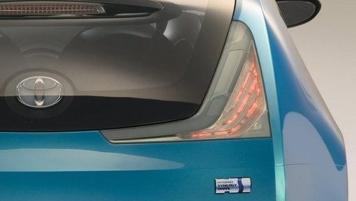 Toyota Unveiling New Hybrid Concept in Geneva