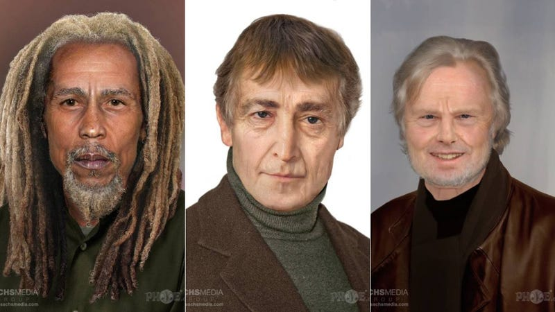 What your favorite rock stars would look like if they were alive today