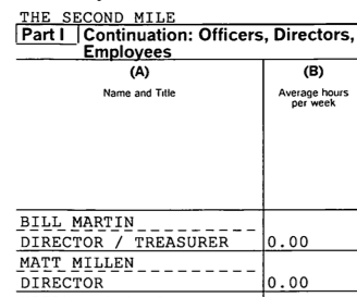 Second Mile's Tax Records: ESPN's Weepy Matt Millen Was Listed In 2009, 2010 As A Director At Sandusky's Charity