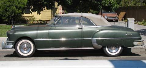 1950 Pontiac Streamliner Deluxe Convertible