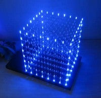 DIY LED Cube Is a Geektastic and Addressable Light Source