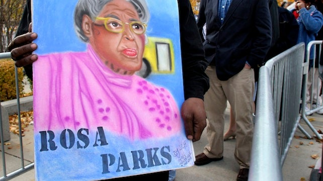 Rosa Parks' Institute Upset At Attempted Rape Revelation