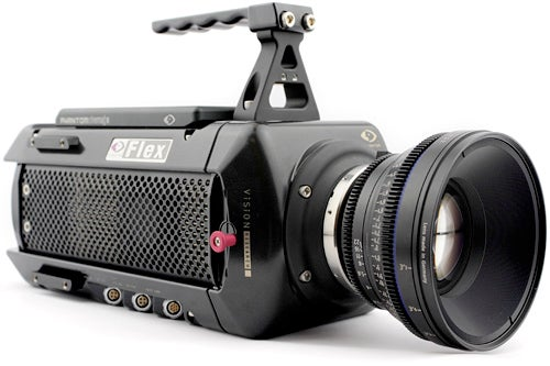 Phantom Flex Camcorder Shoots 1080p Video at 2,800fps