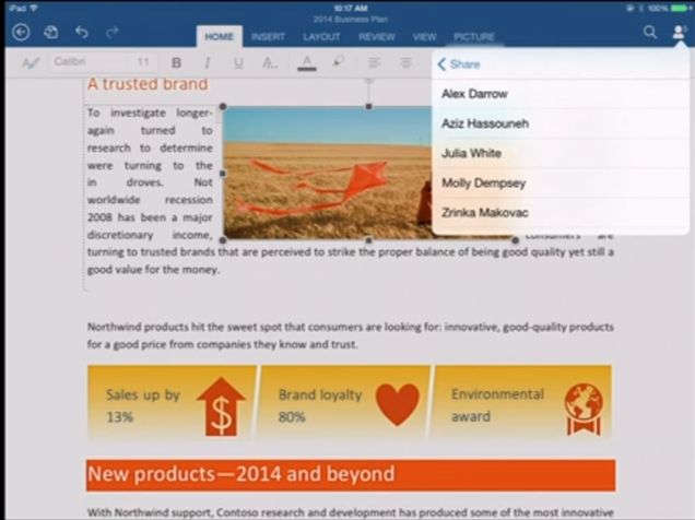 Microsoft Office Is Finally Coming to the iPad Today