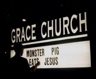 You Say 'Monster Pig,' I Say 'Fred'
