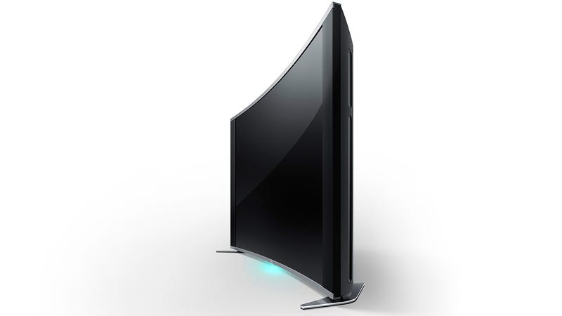 Sony Made the First Curved LED TV, and It's Worthy of Your Lust
