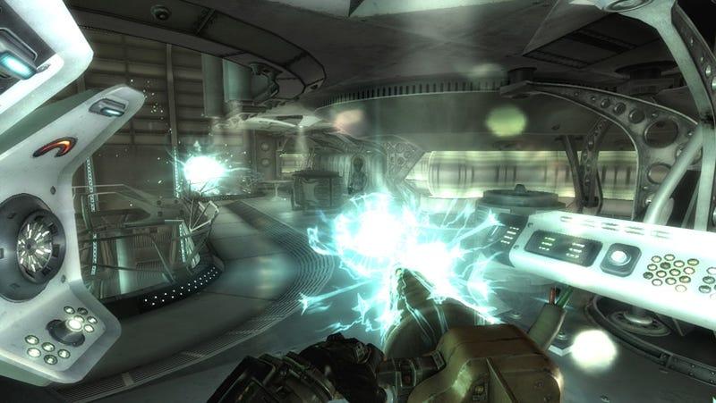 Fallout 3 Mothership Zeta Screens Kill Aliens Dead