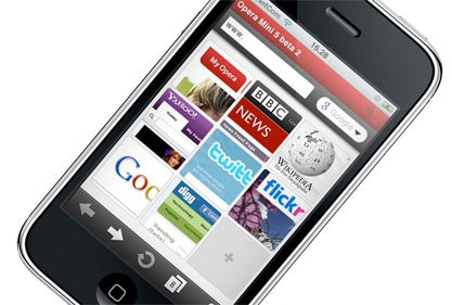 "Opera Mini On iPhone Is ""Fast,"" Though There's No Pinch To Zoom"